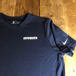 Nike Dallas Cowboys On Field Dri-Fit Spell Out